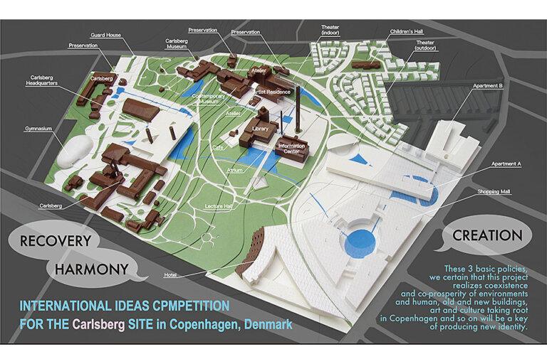 コペンハーゲン・カールスバーグサイト国際アイディアコンペ